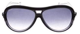 Reed Krakoff Oversize Aviator Sunglasses