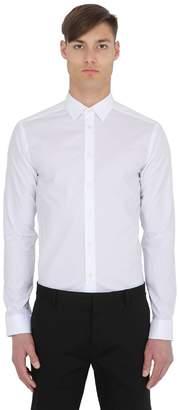 Eton Super Slim Fit Cotton Poplin Shirt