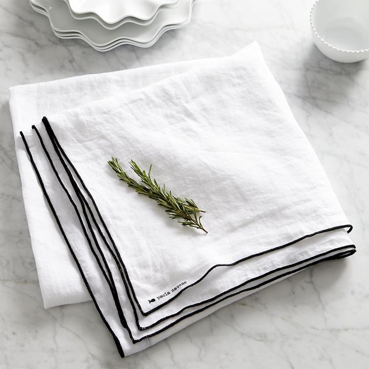"""Paola Navone Mallorca Linen 60""""x120"""" Tablecloth"""