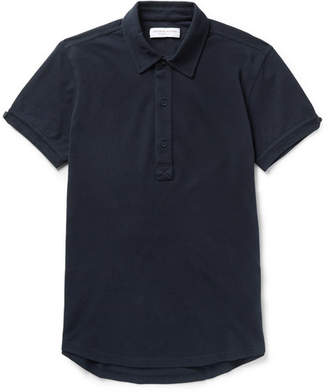 Orlebar Brown Sebastian Slim-Fit Cotton-Piqué Polo Shirt