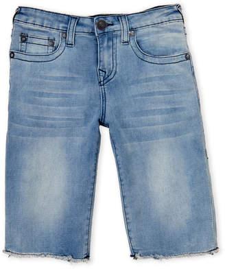 True Religion Boys 8-20) Geno French Terry Denim Shorts