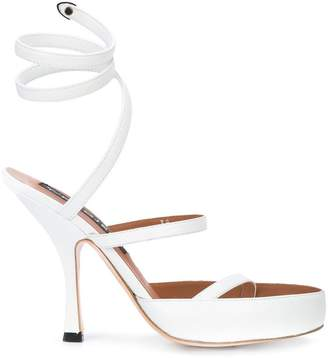 Y/Project Y / Project Spiral open-toe sandals