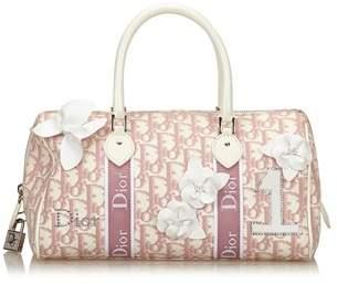 Dior Pre-owned: Oblique Trotter Handbag.