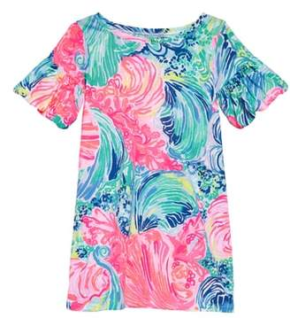 Lilly Pulitzer R Mini Lindell Ruffle Sleeve Dress