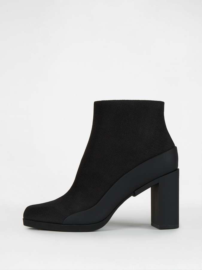 DKNY Phoebe Ankle Bootie With Rubber Heel