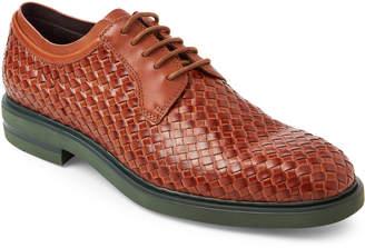 Donald J Pliner Saddle Eloi Woven Leather Oxfords