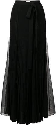 Elie Saab long slit skirt