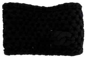 Chanel CC Cashmere Headband