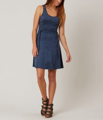 En Crème Faux Suede Dress $44.95 thestylecure.com