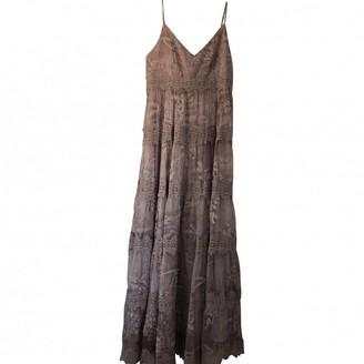 Anthropologie Purple Lace Dress for Women