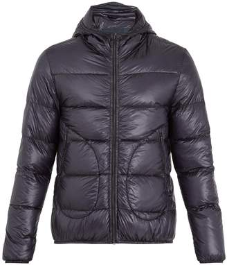 Herno Hooded quilted down coat