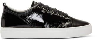 Lanvin Black Patent Sneakers