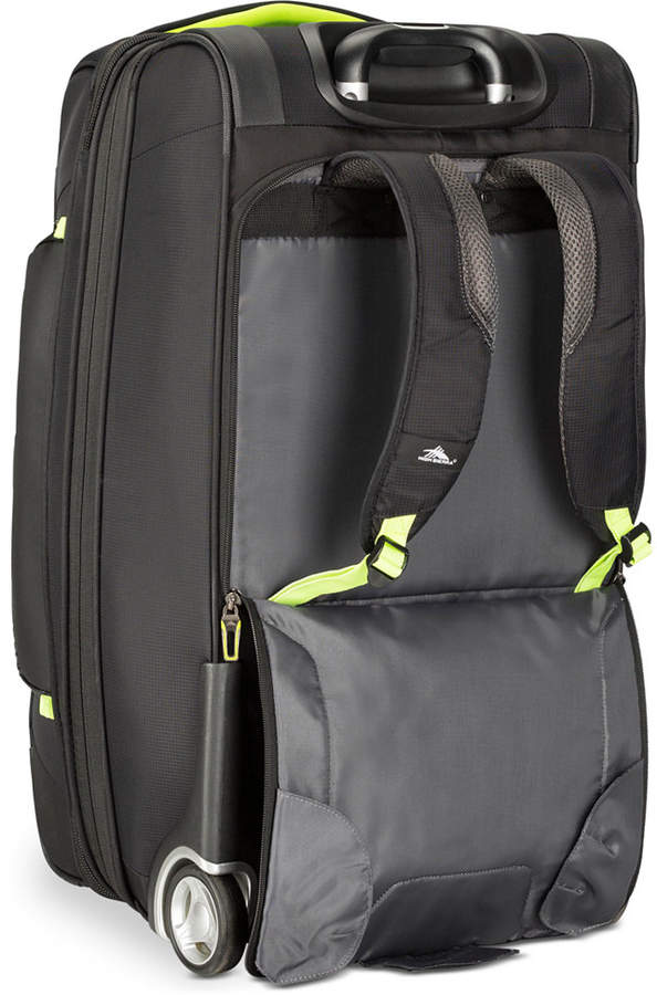 "High Sierra AT8 26"" Wheeled Duffel Backpack"