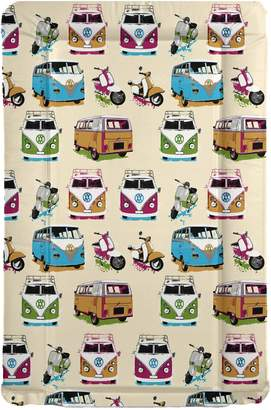Camper Baby Wise Van & Scooters Baby Changing Mat - Campers & Scooters