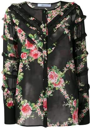 Blumarine floral blouse