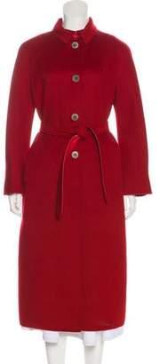 Agnona Cashmere-Blend Long Coat