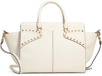 Valentino Twinkle Studs Double Handle Leather Bag