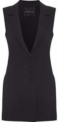 Nicholas Crepe Vest