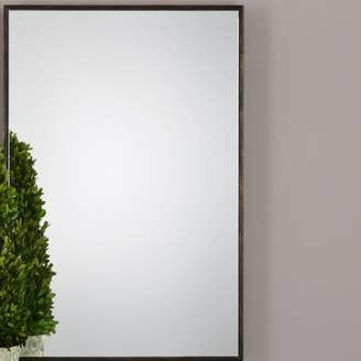 Gracie Oaks Traditional Brushed Accent Mirror