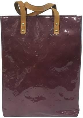 Louis Vuitton Vintage Purple Patent leather Handbag