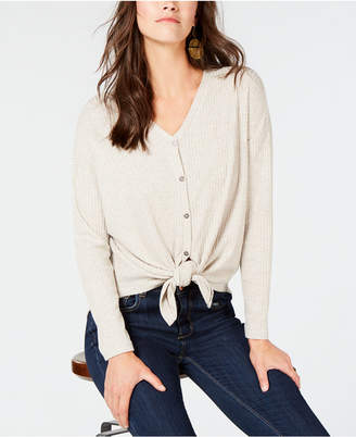 Style&Co. Style & Co Thermal Button-Front Shirt