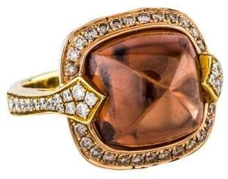 Frederic Sage 18K Sphene & Diamond Ring