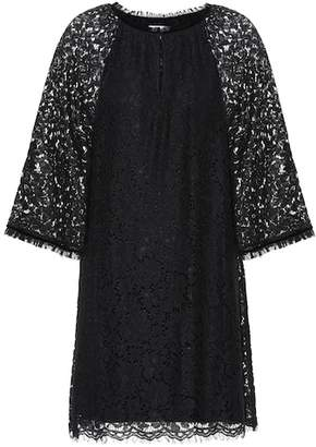 Velvet Julienne lace dress