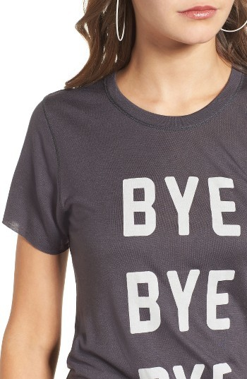 Women's Pst By Project Social T Bye Bye Bye Tee 4