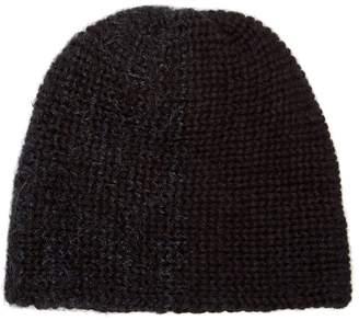 REINHARD PLANK HATS Bi-colour wool beanie
