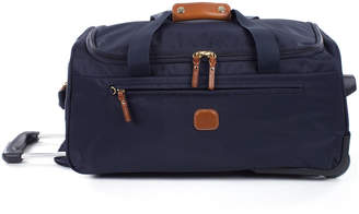"Bric's Navy X-Bag 21"" Carry-On Rolling Duffel Luggage"