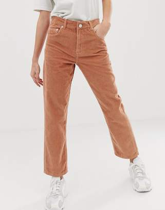 Asos Design DESIGN Florence authentic straight in biscuit cord