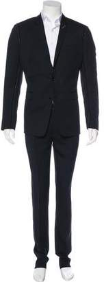 Christian Dior Raw-Edge Virgin Wool Suit