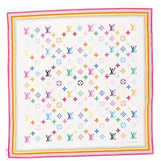 Louis Vuitton Multicolore Monogram Scarf