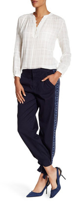 Rebecca Taylor Embroidered Twill Pant $350 thestylecure.com