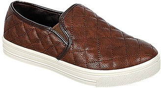Brown Tasha Quilted Sneaker $29.99 thestylecure.com