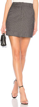 L'Academie The Mattia Mini Skirt