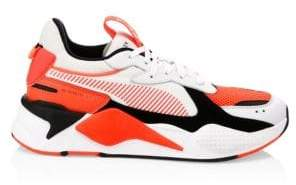 Puma Men's RS-X Reinvention Chunky Sneakers White - Size 12