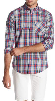 Ben Sherman Plaid Long Sleeve Regular Fit Shirt