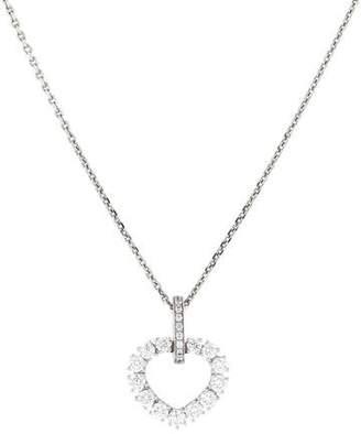 Chopard 18K Diamond L'Heure Pendant Necklace
