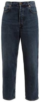 Golden Goose Kim High Rise Boyfriend Jeans - Womens - Dark Denim