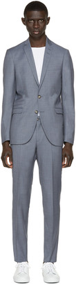 Tiger of Sweden Blue Nedvin Suit $860 thestylecure.com