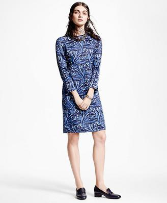 Silk Charmeuse Print Shift Dress $498 thestylecure.com