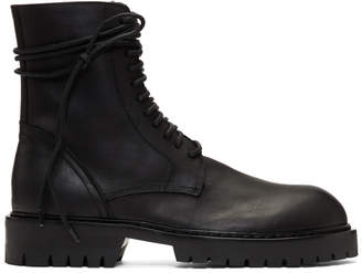 Ann Demeulemeester Black Texas Lux Boots