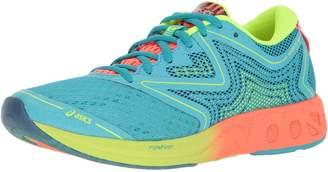Asics Women's Noosa FF Running Shoe Aquarium/Flash Coral/Safety Yellow 5.5 M US