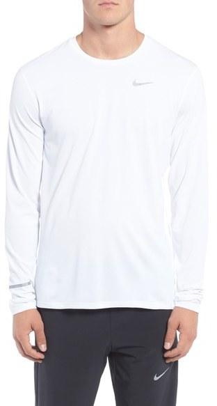 Nike 'Contour' Long Sleeve Dri-FIT Running T-Shirt