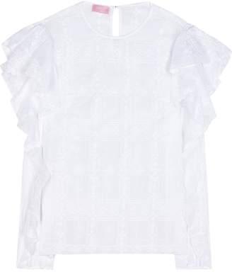 Giamba Cotton-blend top