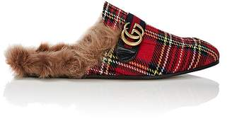 Gucci Men's Princetown Wool Slippers