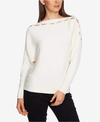1 STATE 1.state Slit-Cutout Sweater