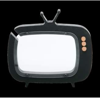 Up Warsaw Tv- Shaped Piggy Bank Black