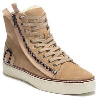 J/Slides Wade Faux Fur Sneaker